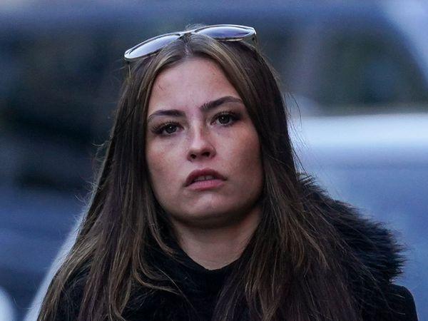 Sharna Walker, 25, outside Birmingham Magistrates' Court