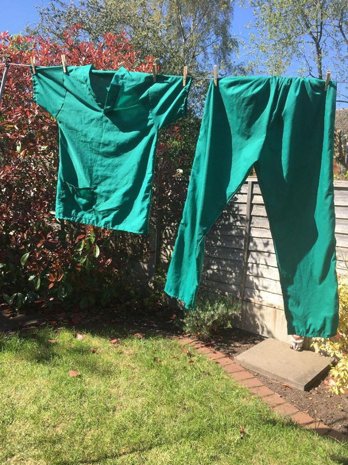 MG Sportswear in Kidderminster has swapped making sports gear for scrubs