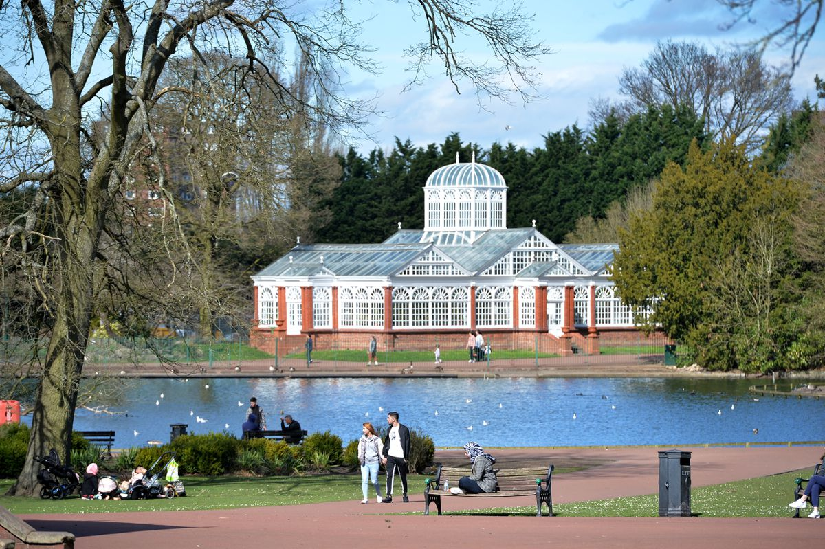 West Park is a favourite spot of Nick's
