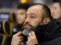 Wolves boss Nuno: Late goal felt like a punch