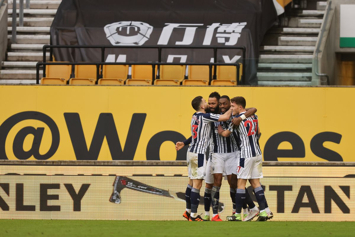 Semi Ajayi of West Bromwich Albion scores a goal to make it 2-2. (AMA)