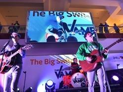 The Vamps perform intimate gig to lucky few before Merry Hill Christmas lights switch-on - with pictures
