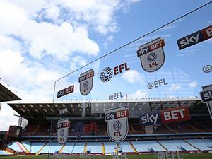 The EFL season has been suspended until April 3 at the earliest (Barrington
