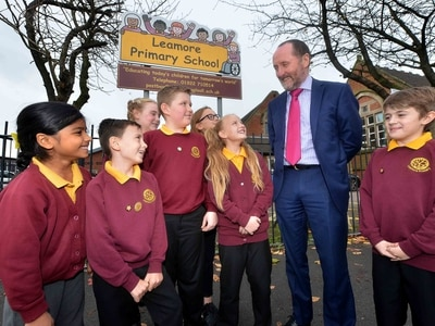 Walsall school holds 'parliament day'