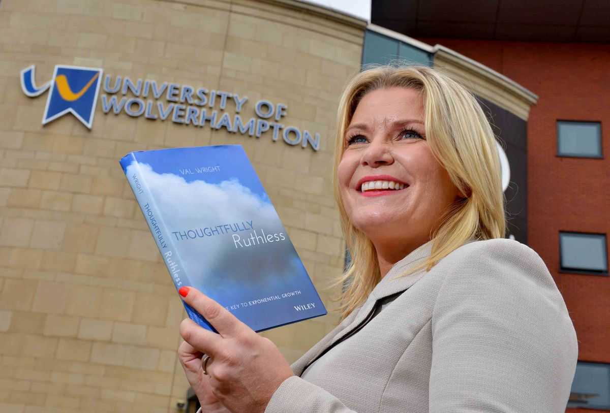 Val Wright returns to her old university