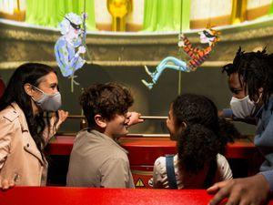 Gangsta Granny: The Ride is based on David Walliams' popular children's book