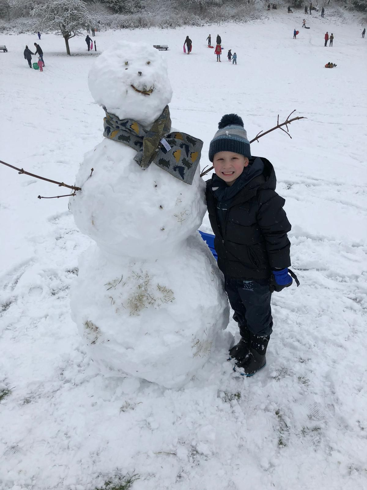 Tyler Southall age 6 at Mary Stevens Park in Stourbridge