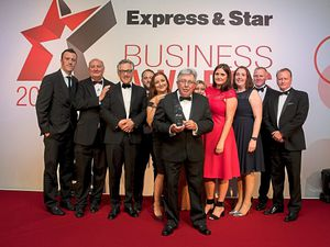 The HomeServe Membership team collects the award