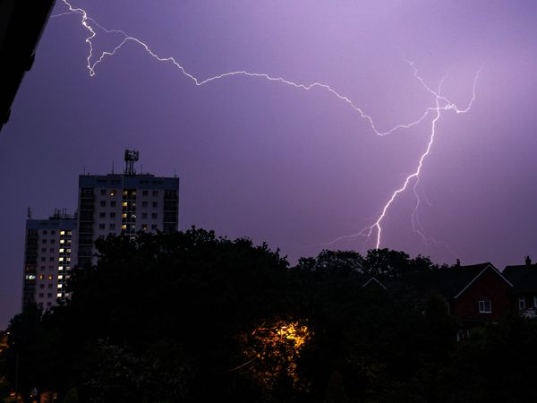 Thunderstorms are forecast for the region on Tuesday