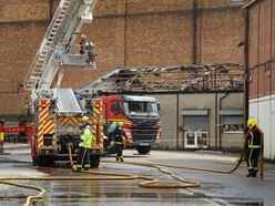 Woman released under investigation after arson attack on Wolverhampton factory unit