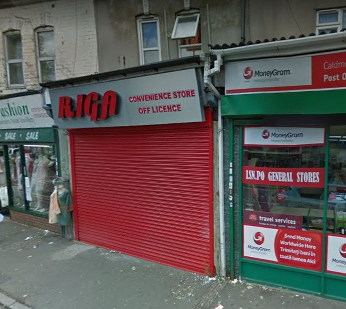 Riga convenience store in West Bromwich Street, Caldmore, Walsall. PIC: Google Street View