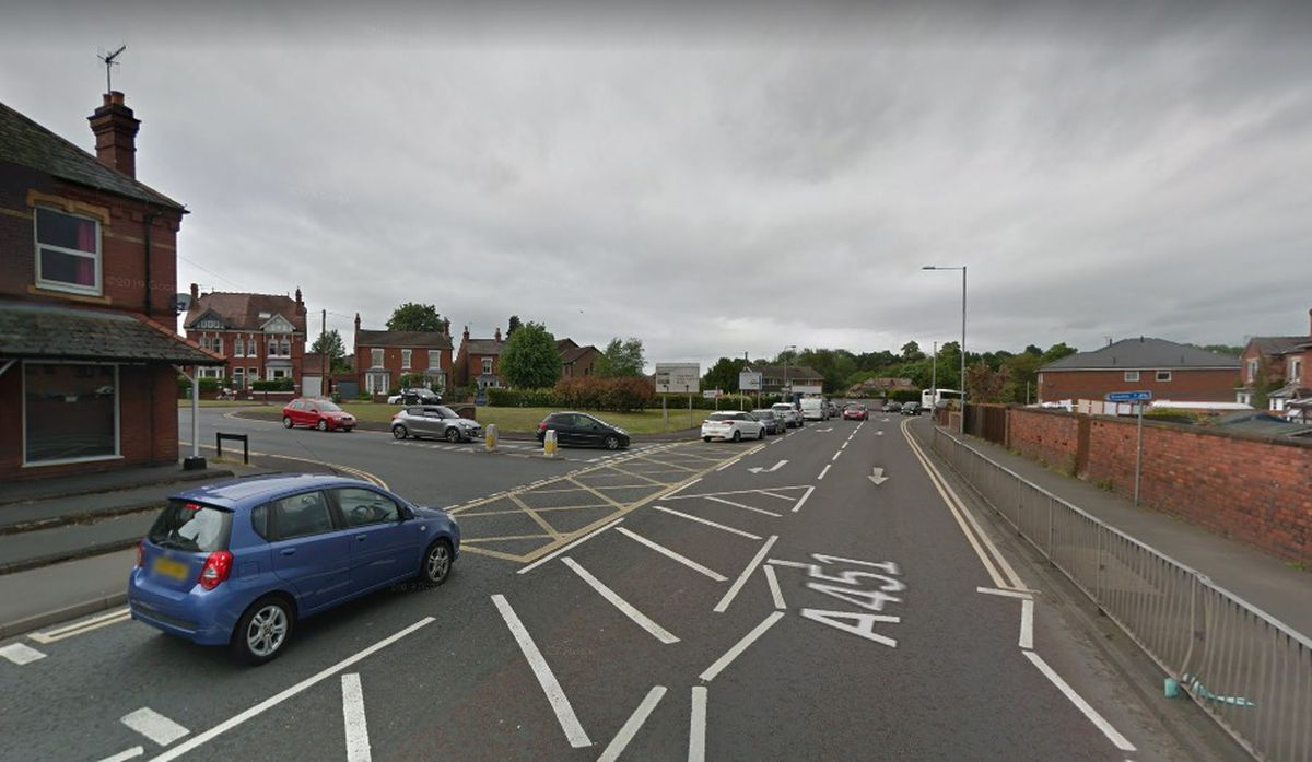 The junction of Stourport Road and Sutton Park Road, in Kidderminster. Photo: Google Maps