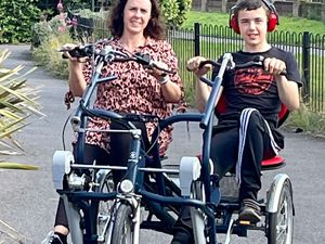 Claire now has peace of mind knowing her son is able to enjoy himself safely.