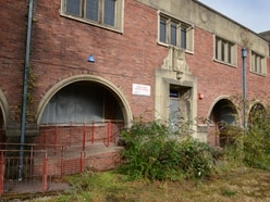 Anger over state of former Heath Town Baths and Library