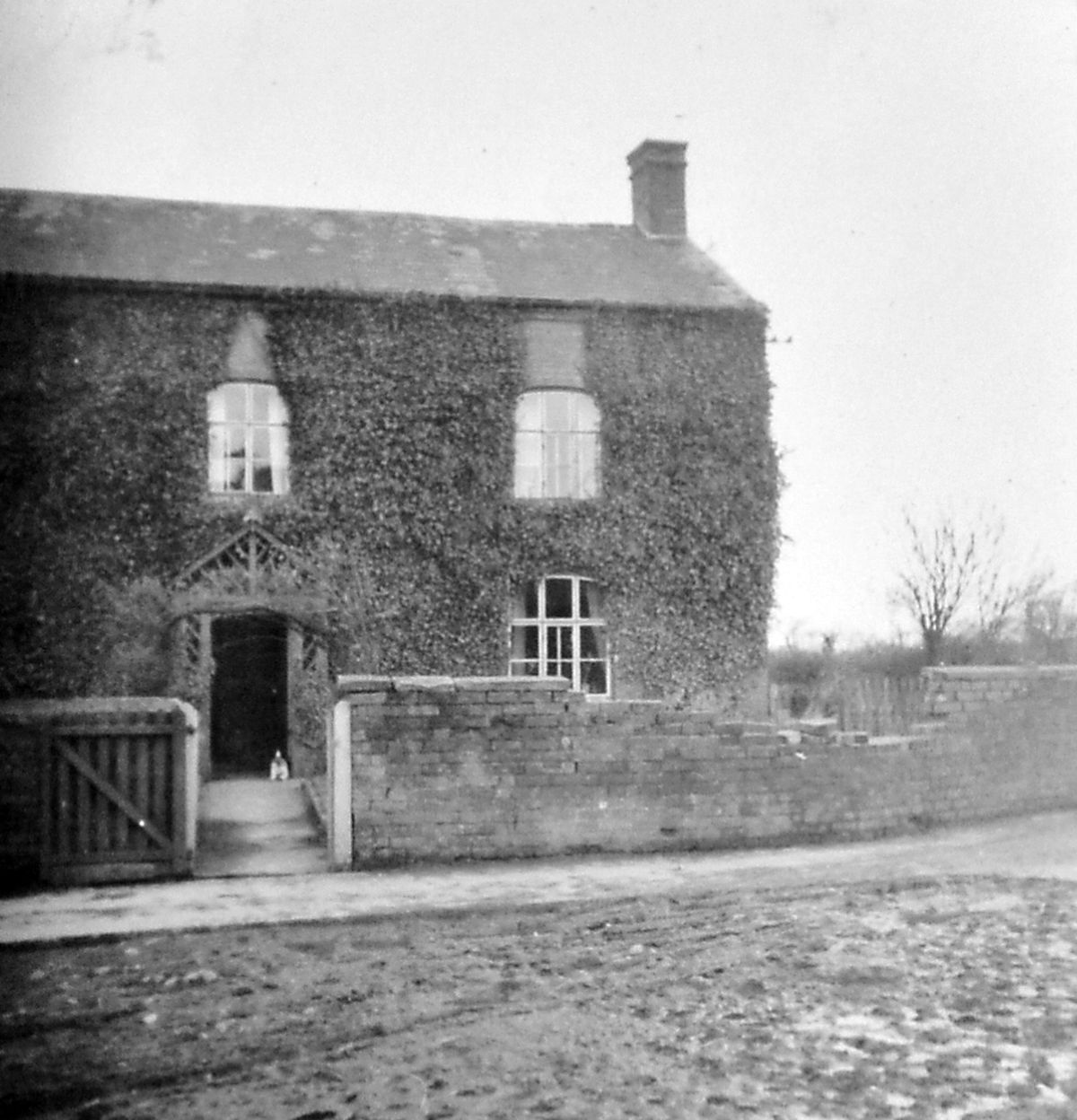 Sales Farm, Somerwood, where Jean was brought up.