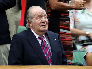 Former Spanish king Juan Carlos