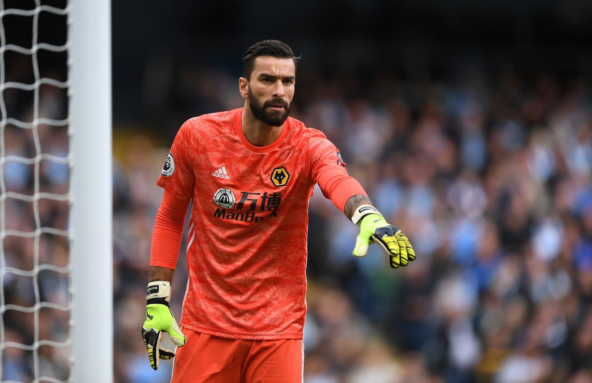 Rui Patricio is the current Wolves No. 1