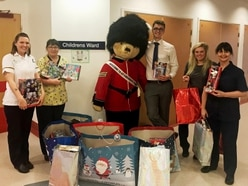 Network Packaging spread Christmas cheer with toy donation to The Dudley Group NHS Foundation Trust