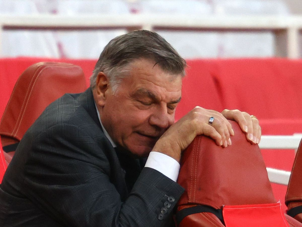 Sam Allardyce suffered the first relegation of his managerial career