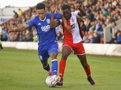 Non-League Day: Manny Sonupe in high spirits at Kidderminster Harriers