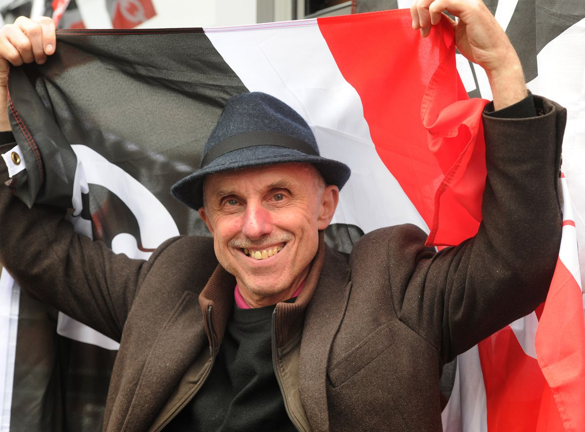 Proud Black Country mon Billy Spakemon
