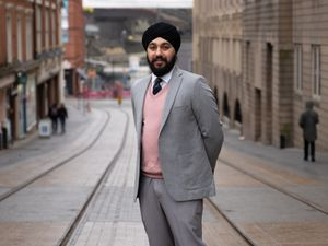 PCC candidate Jay Sohal-Singh has been accused of holding 'far right' views by David Jamieson
