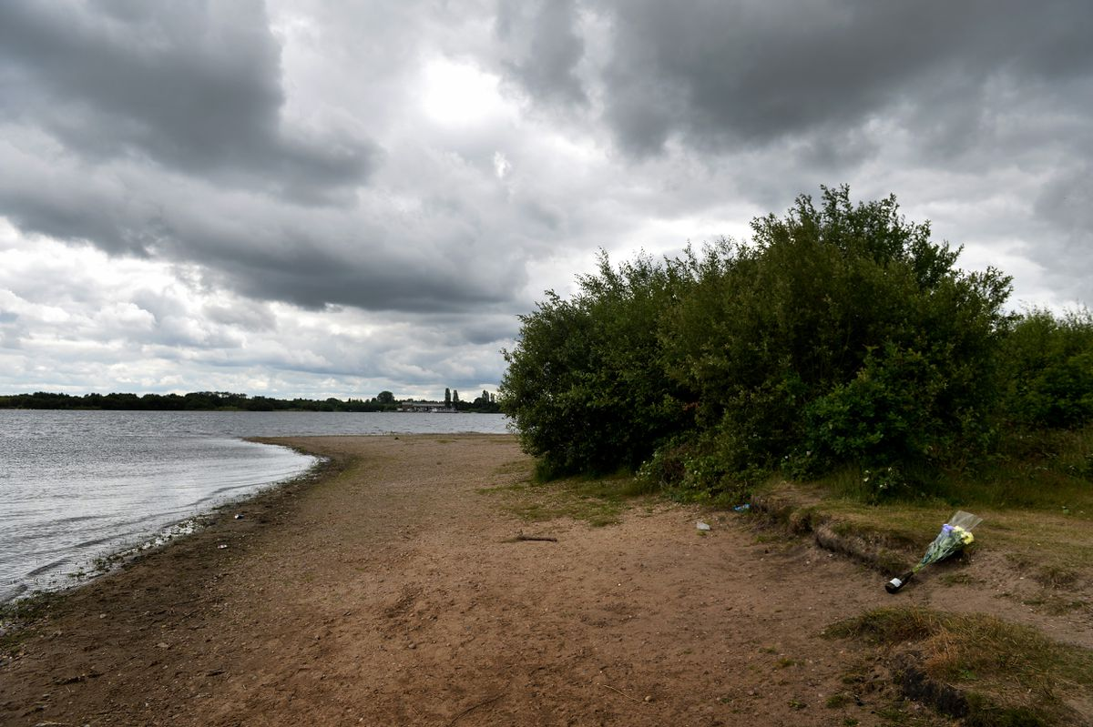Chasewater Country Park, where a 16-year-old girl was rescued