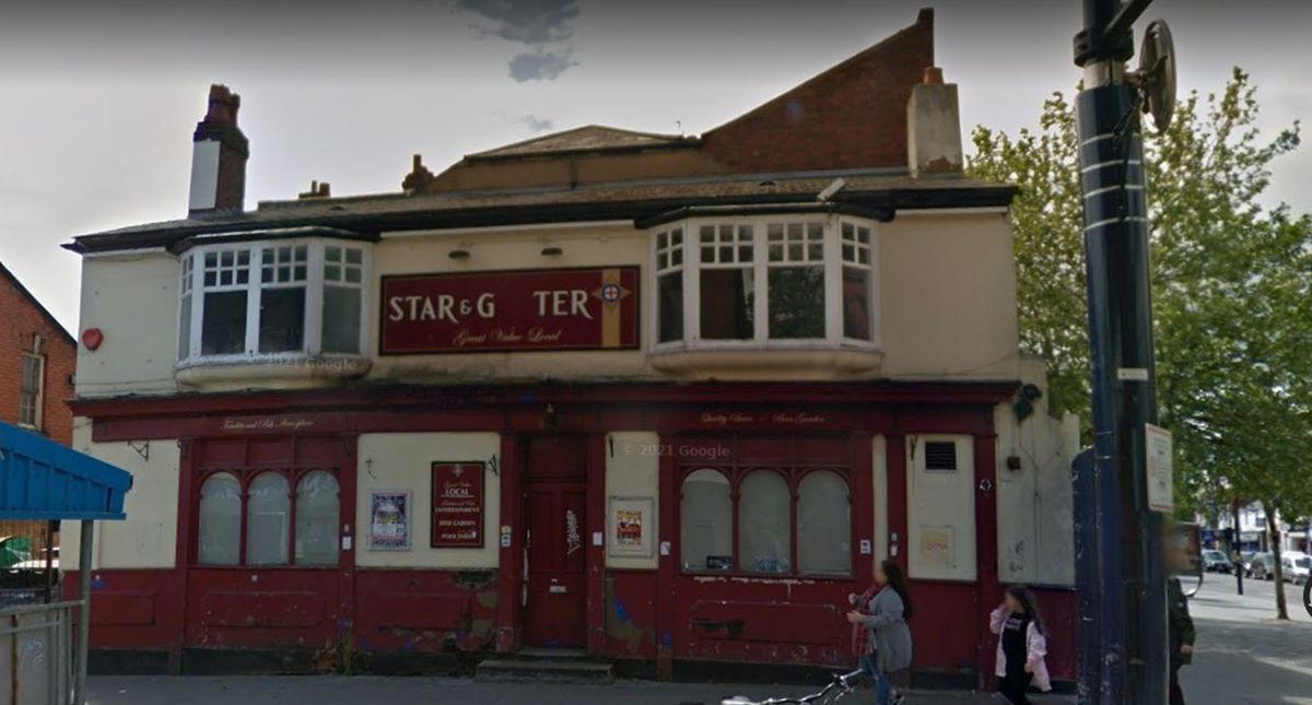 The former Star and Garter pub in High Street, West Bromwich. Photo: Google Maps