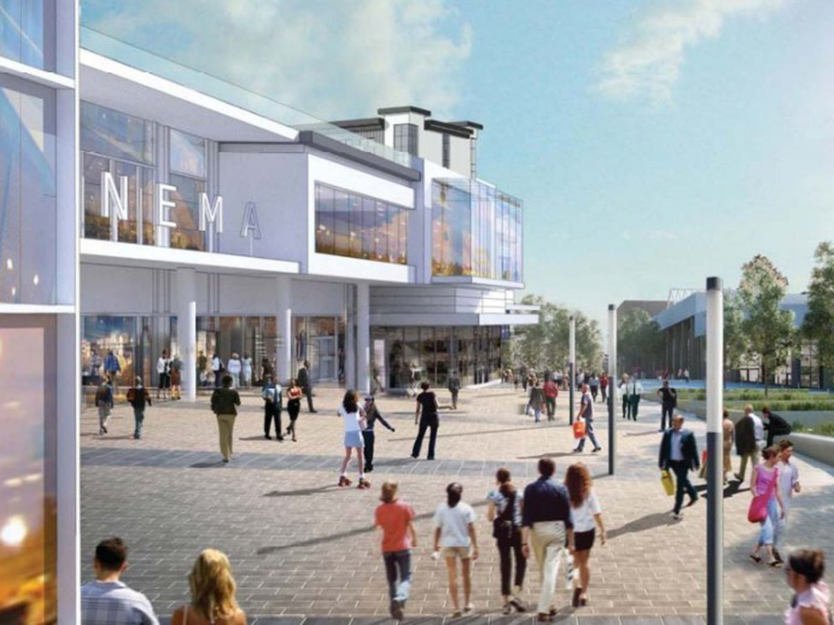 An artist impression of the proposed Portersfield development in Dudley. Photo: Avenbury (Dudley) Ltd