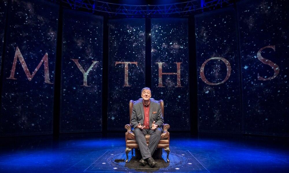 Stephen Fry tells tale of Gods at first of three Birmingham