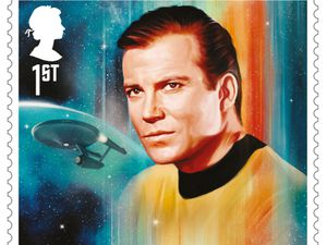 A James T Kirk stamp