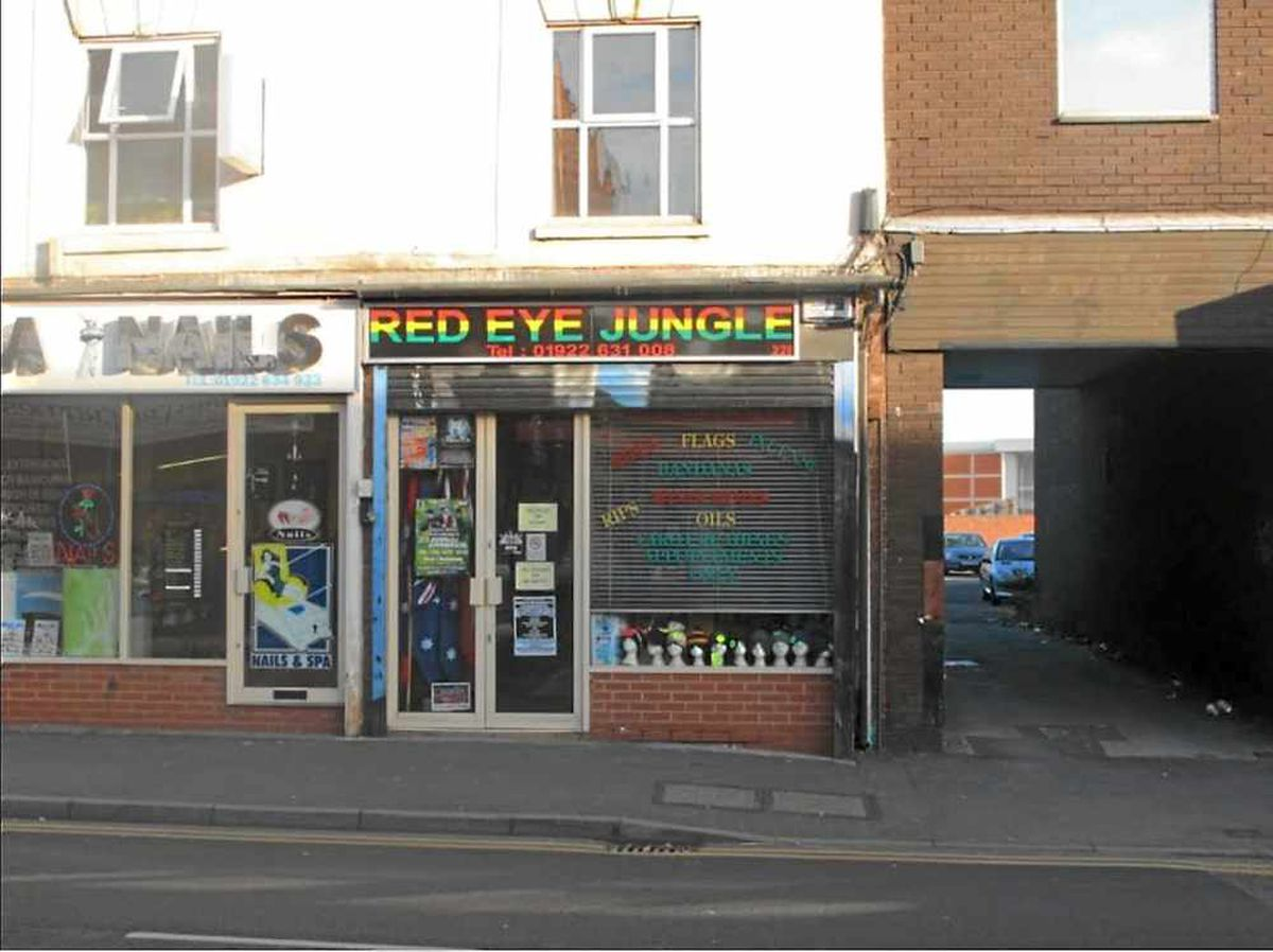 Premises at the Red Eye Jungle, Stafford Street, Walsall