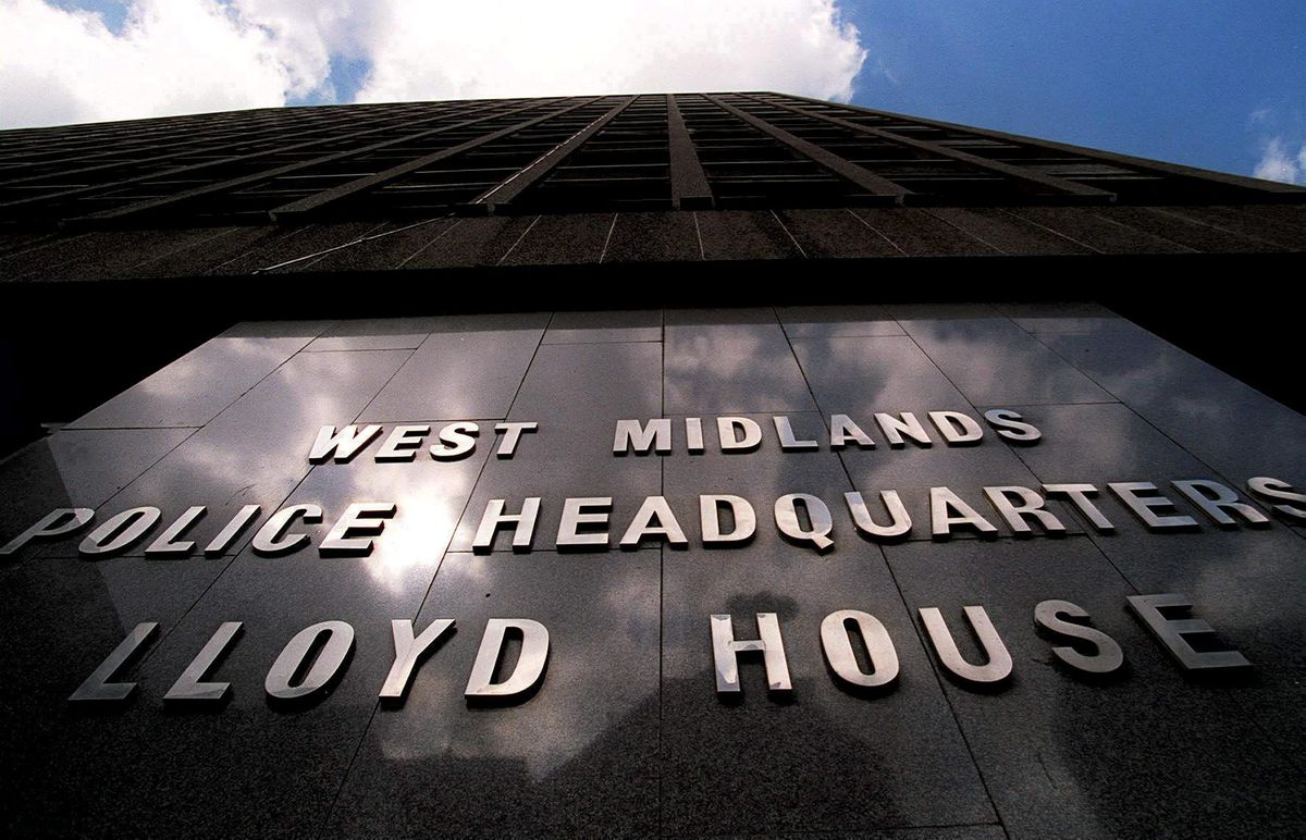 Lloyd House, the headquarters of West Midlands Police in Birmingham