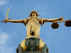 Driver caught swerving as three times limit