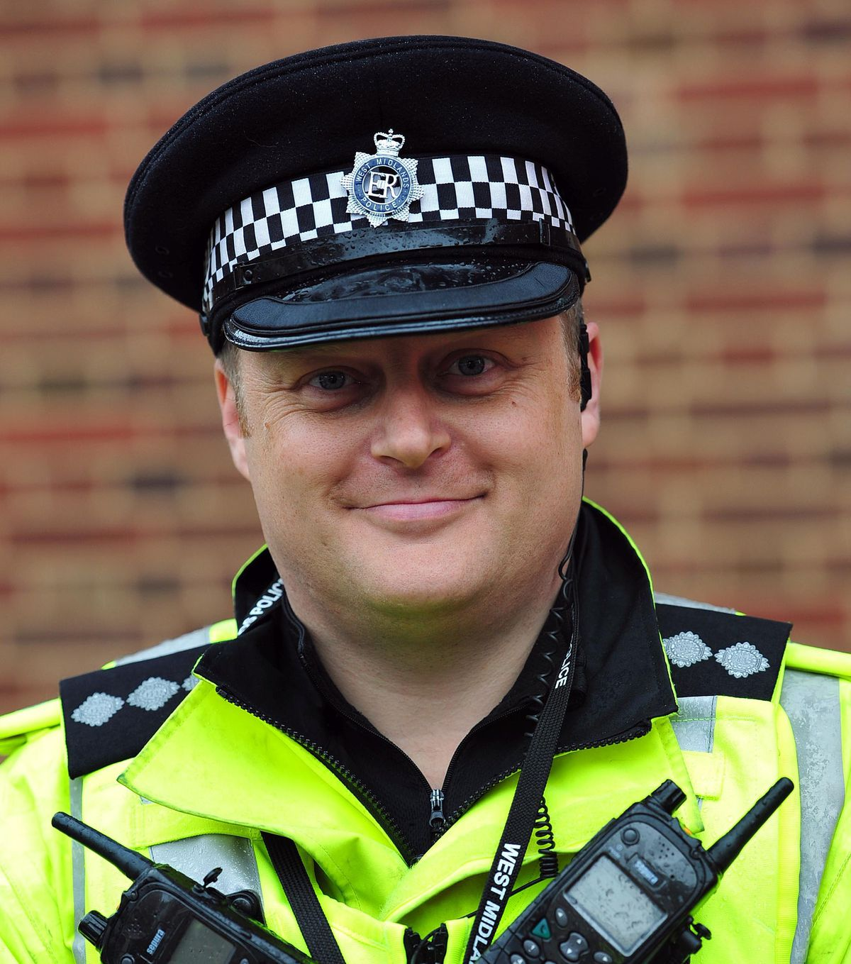 Phil Dolby pictured while a DCI in Dudley in 2015