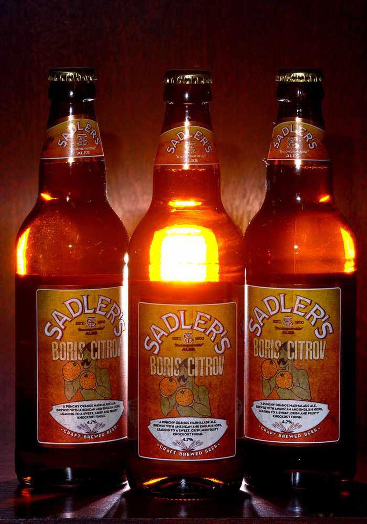 The 'Boris Citrov' ale