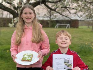 Seven-year-old Stafford Prep pupil Orlando Bostock and elder sister, Arabella