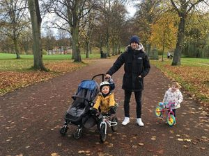 Mat Sadler and his family
