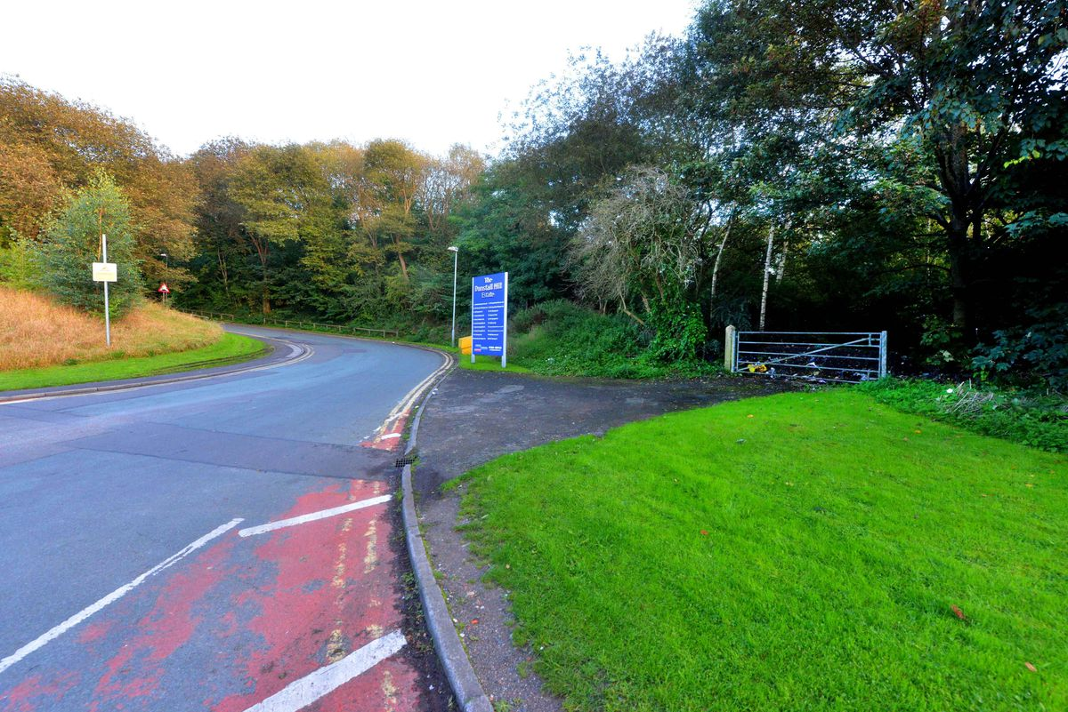 The site is next to the Dunstall Hill Trading Estate