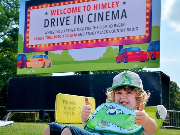 GALLERY: Sunshine and cinema as film-goers park up at Himley Hall