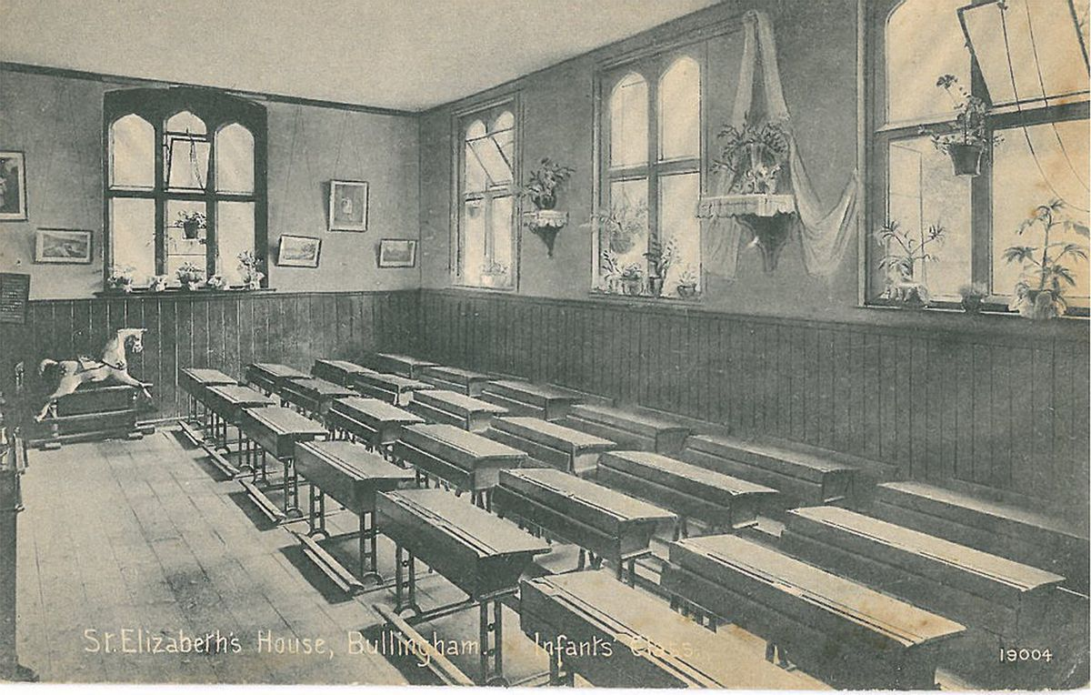 A classroom at Bullingham