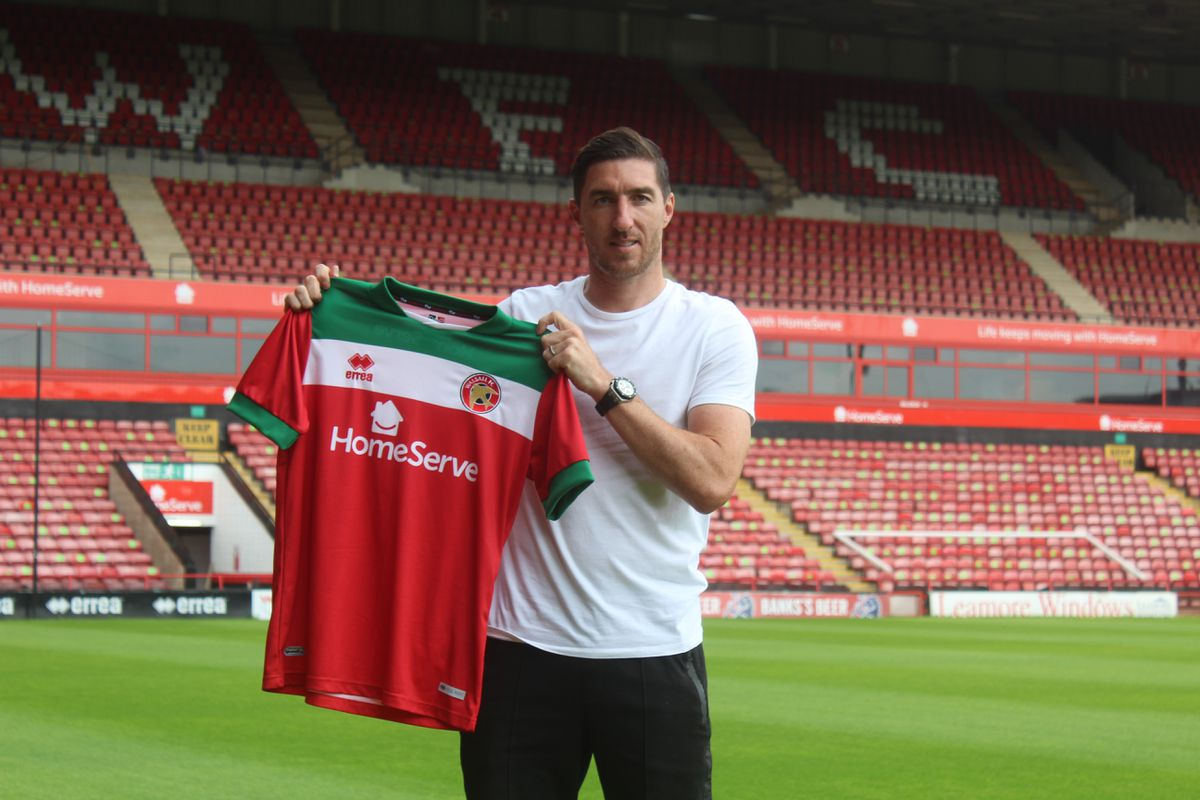 Stephen Ward has joined Walsall