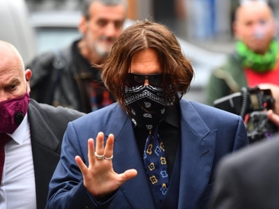 Johnny Depp accused of assaulting ex-wife on trip to Australia