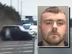 WATCH: 137mph police chase ends as driver rammed after M6 U-turn