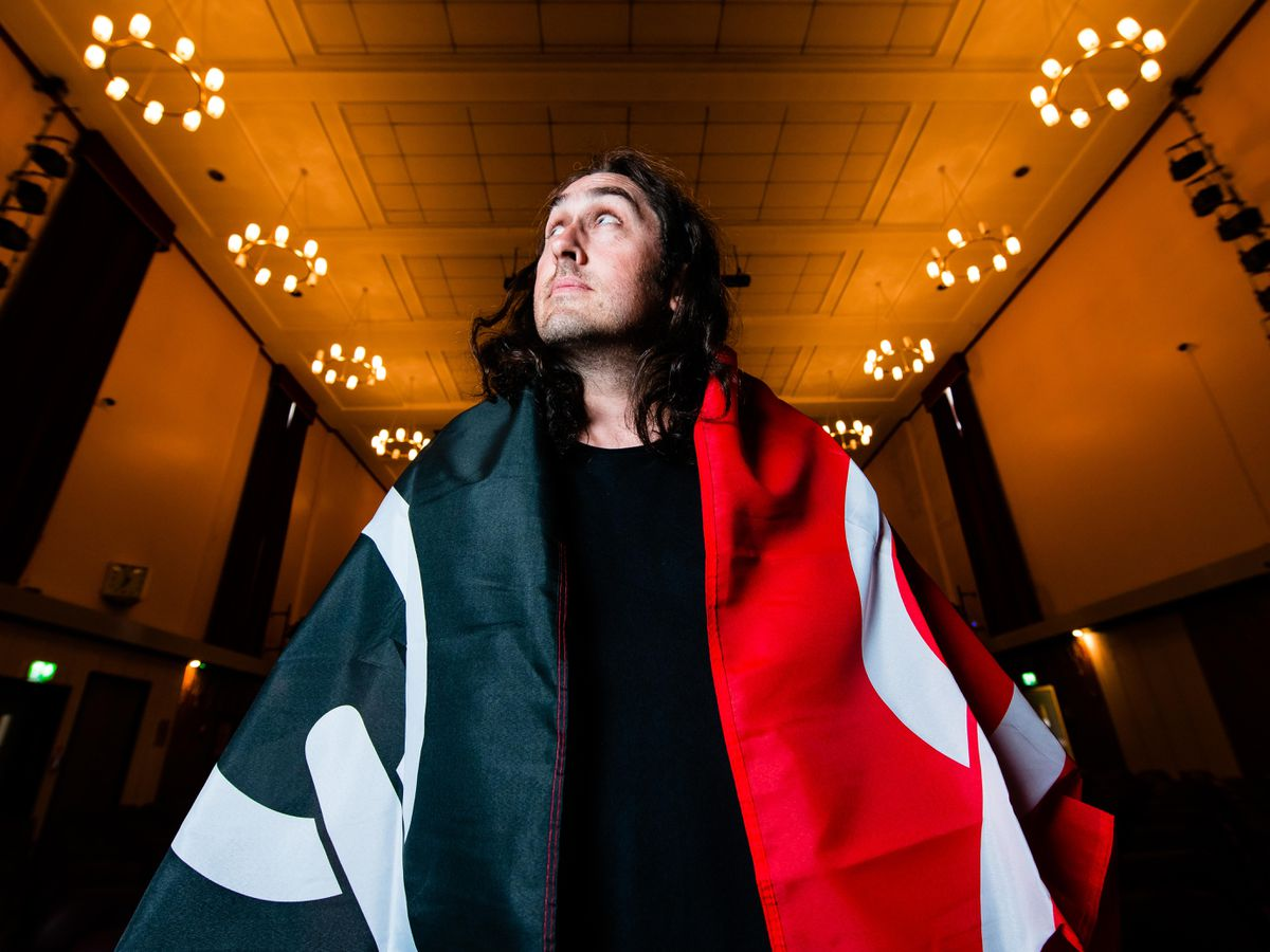Ross Noble headlined the night of live comedy celebrating Black Country life