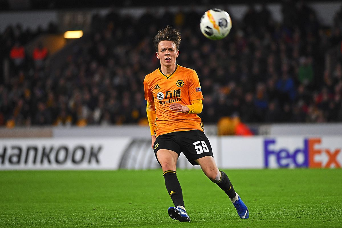 Oskar Buur of Wolverhampton Wanderers (AMA)