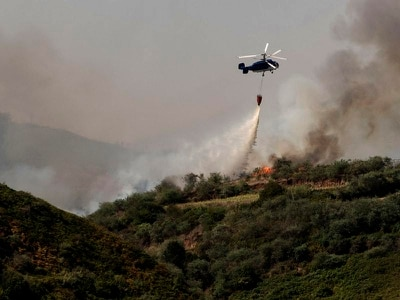 Weather change fuels hopes Gran Canaria blaze can be tackled