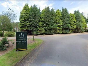 The entrance to Beau Desert Golf Club. Photo: Google