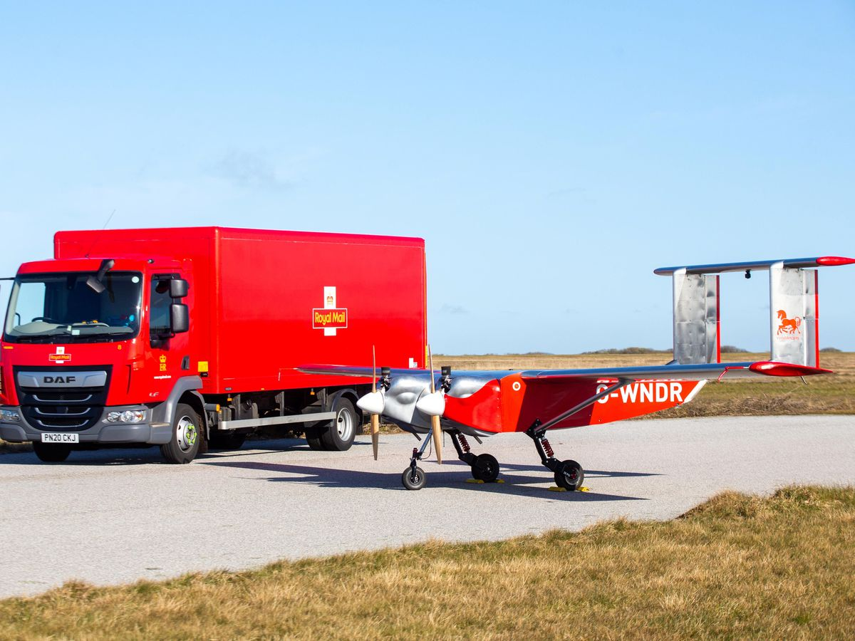 Royal Mail drone
