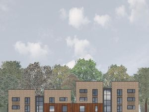 Artist impression of proposed new units at John Dando House in Hamstead Road, Great Barr. Photo: BPN Architects